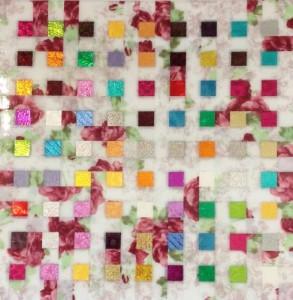 Kopec Eliza - Atsiganos - Gemengde techniek 40 x 40 cm - € 500,= - K86001